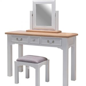 Hannah Dressing Table, Mirror & Stool
