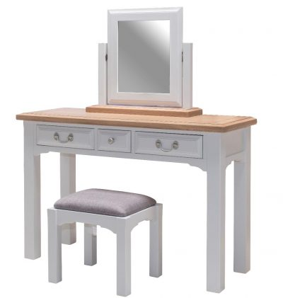 Hannah Dressing Table, Mirror & Stool