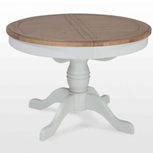 Hannah Extendable Round Dining Table