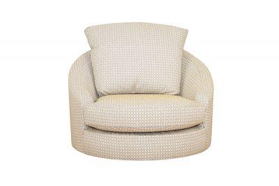 Blinx Swivel Chair (Plain Fabric)