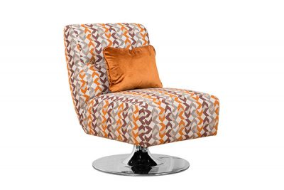 Harris Swivel Chair (Plain Fabric)