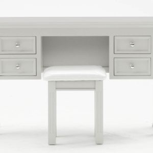 Deauville Dove Grey Dressing Table (With Stool)
