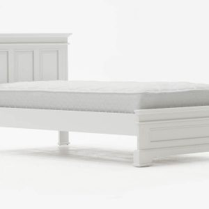 Deauville Dove Grey Single Bed