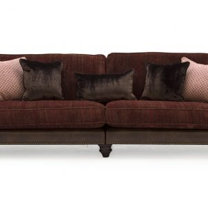 Hyde 4 Seater Claret - 4 Scatter Cushions