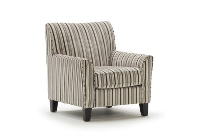 Aspen Striped Accent Chair
