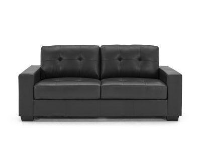 Gemona Black 3 Seater