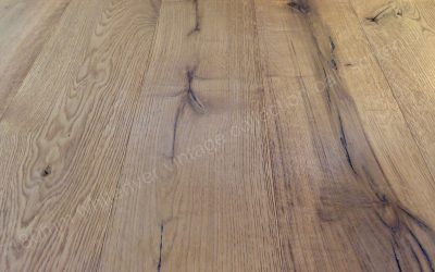 180mm Vintage Oak Sorrento Brushed, Knots Deep Brushed & Sanded, Natural Oiled