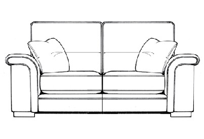 2 Seater Lennix by  Ashley Manor Upholstery
