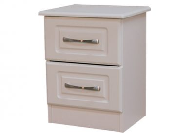 Avoca White 2 Drawer Locker