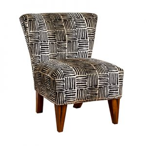 George Accent Chair (Plain Fabric)
