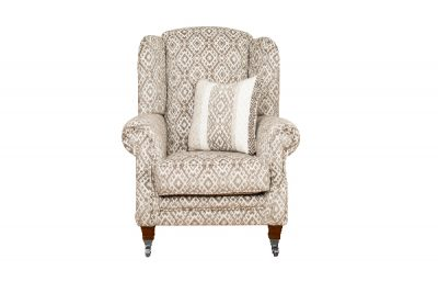Holthorpe Wing Chair (Plain Fabric)