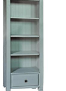 Danube French Grey Bookcase