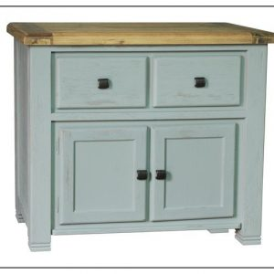 Danube French Grey Sideboard Small 1.35m