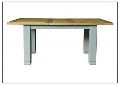 Danube French Grey Extending 1.8m Dining Table