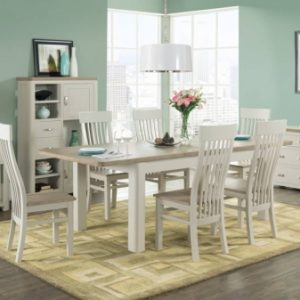 Treviso Painted 6' Dining Set