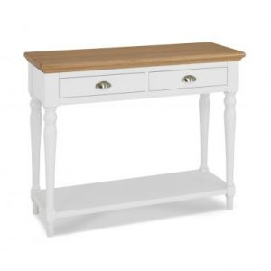 Hampstead Two Tone Console Table with Turned Legs
