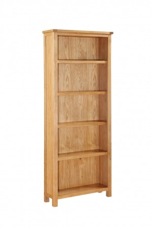 Hartford City Oak Tall Bookcase