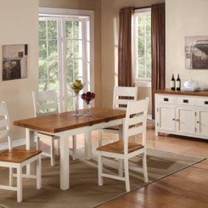 Heritage 5' Butterfly Dining Set