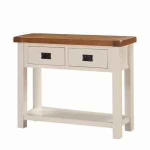 Heritage Large Hall Table (With Drawer)