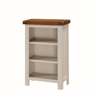 Heritage Low Slim Bookcase