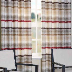 Horizon Natural Ready Made Curtains
