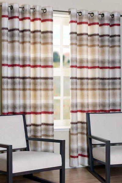 Horizon Natural Ready Made Curtains