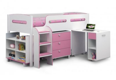 Kimbo Pink Cabin Bed
