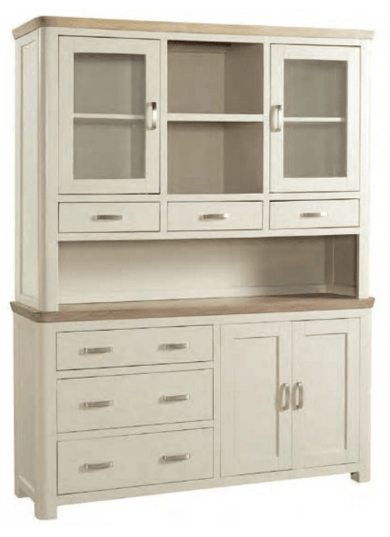 Treviso Painted Large Buffet & Hutch