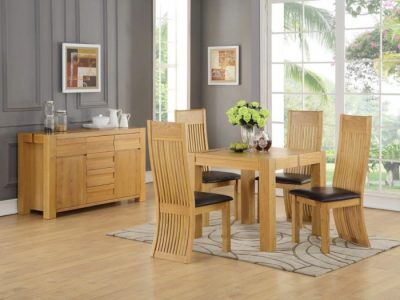 Meridian 90cm Square Dining Set