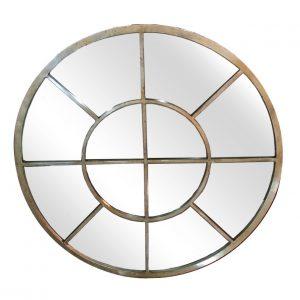 Gold Metal Window Mirror