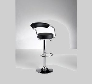 Portal Bar Stool Black