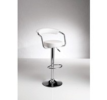 Portal Bar Stool White
