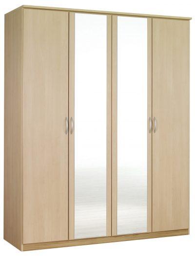 Kent 4 Door Wardrobe