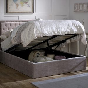 Rhea King-Sized Bed (With Storage)