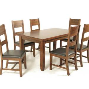 Roscrea 5' Fixed Dining Set
