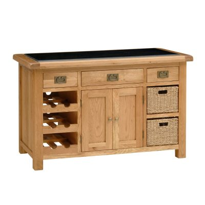 Salisbury Oak Kitchen Island