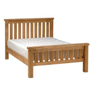 Salisbury Oak Super King Size Slatted Bed