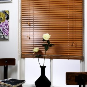 Sugar Maple Wood Slat Venetian Blinds