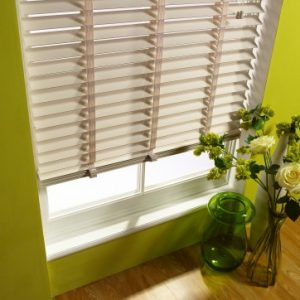 Stone Wood Slat Venetian Blinds