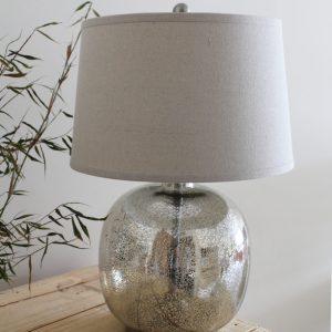 Round Mercury Table Lamp