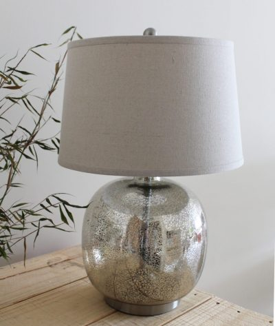 Round Mercury Table Lamp