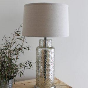 Trellis Mercury Table Lamp