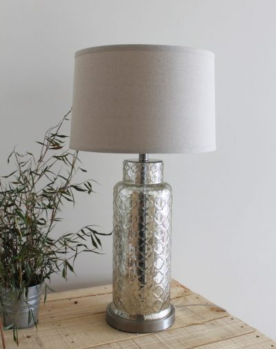 Trellis Mercury Table Lamp