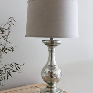 Tall Mercury Table Lamp