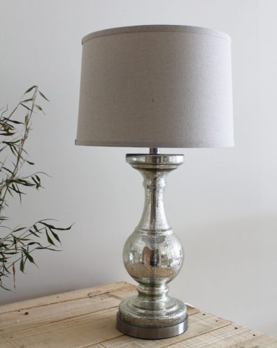 Tall Mercury Table Lamp