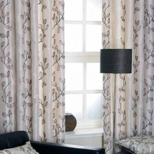 Tarifa Charcoal Ready Made Curtains
