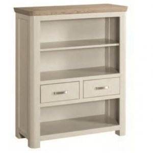 Treviso Painted Low Bookcase