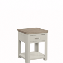 Treviso Painted End Table (With Drawer)