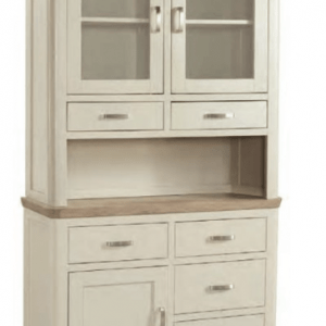 Treviso Painted Small Buffet & Hutch