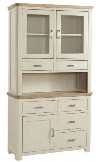68032d9597e Treviso Painted Small Buffet   Hutch